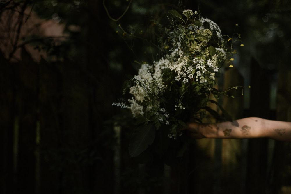bukiet kwiatow lesnych