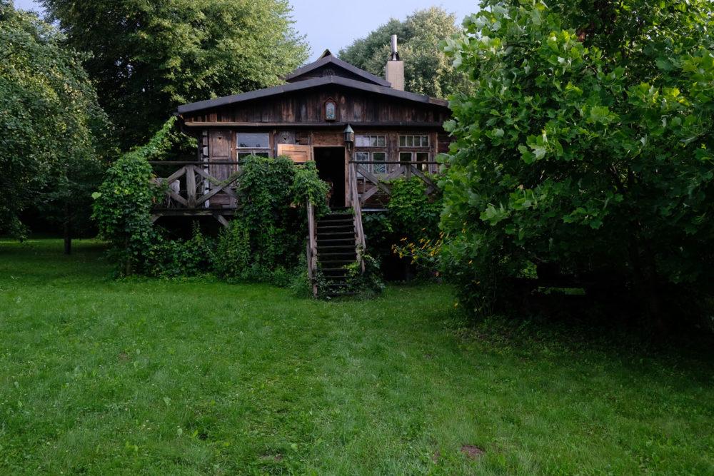 drewniany dom kaziemierz dolny polska