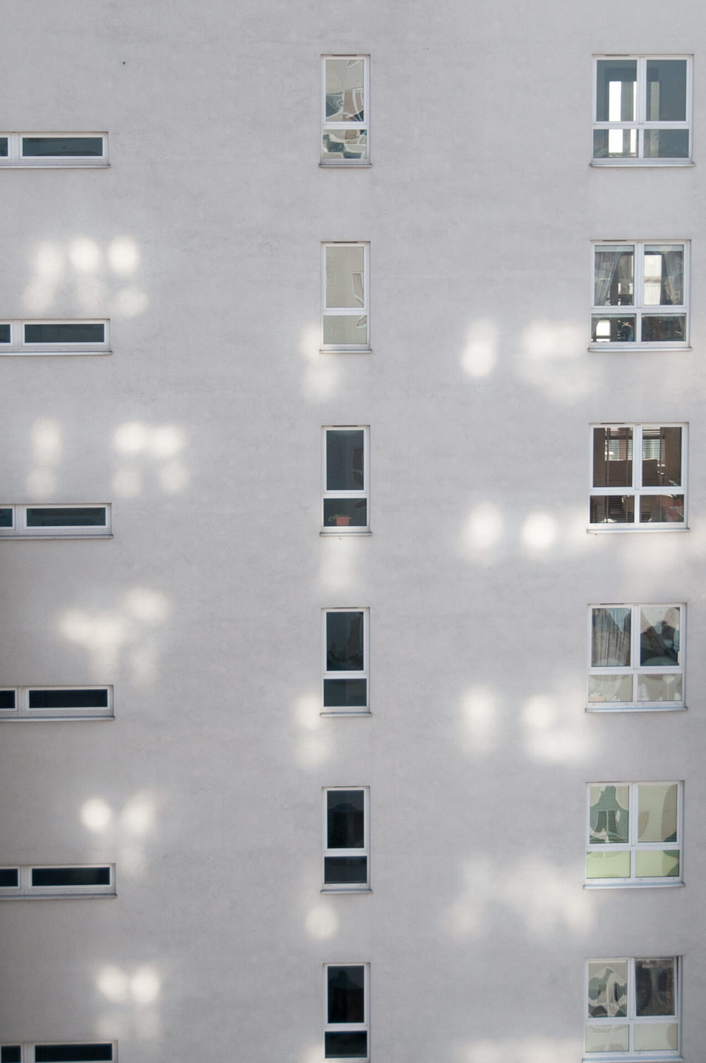 okna odbicia