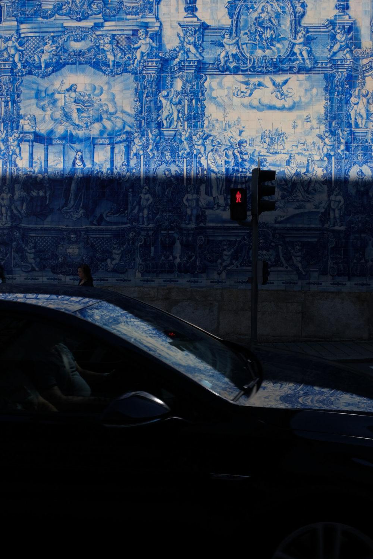 azulejos car porto
