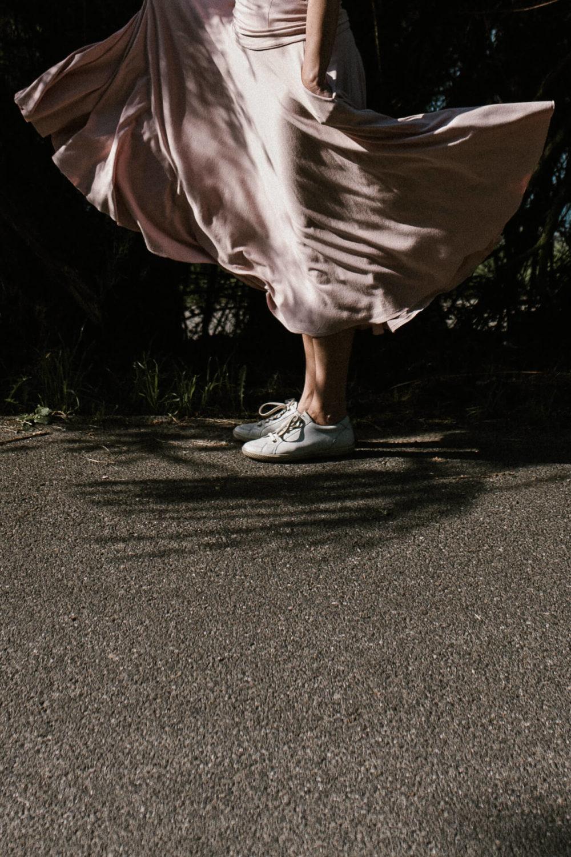 rozowa spodnica riskmadeinwarsaw