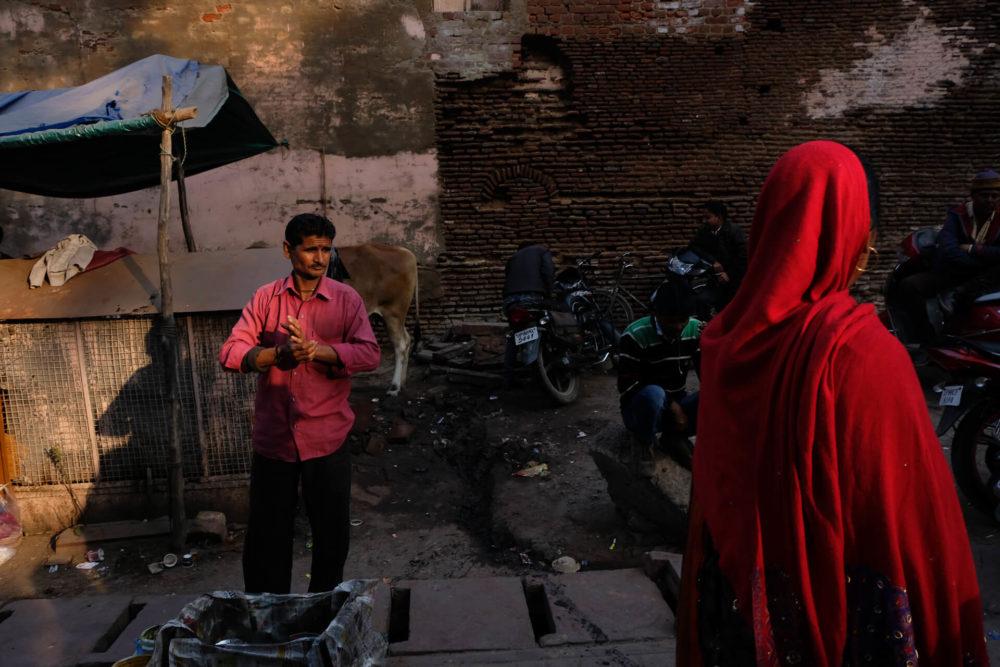 scena uliczna indie