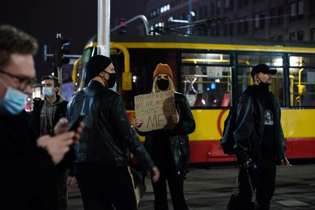 strajk kobiet Warszawa