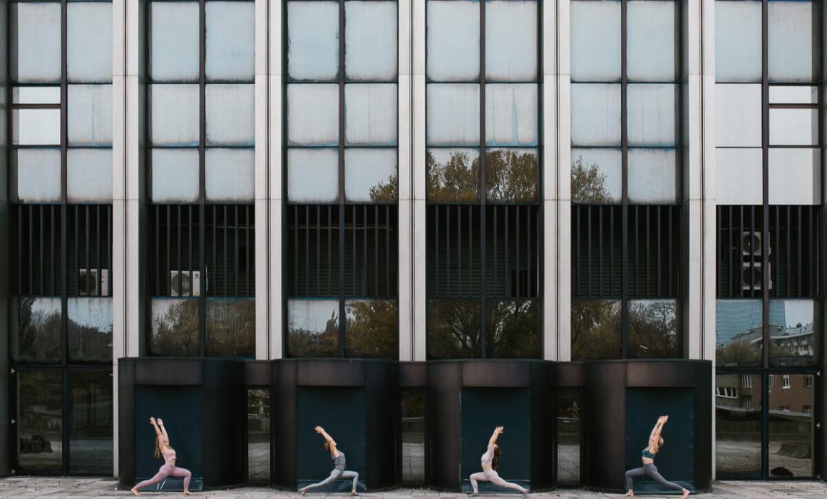 joga w mieście